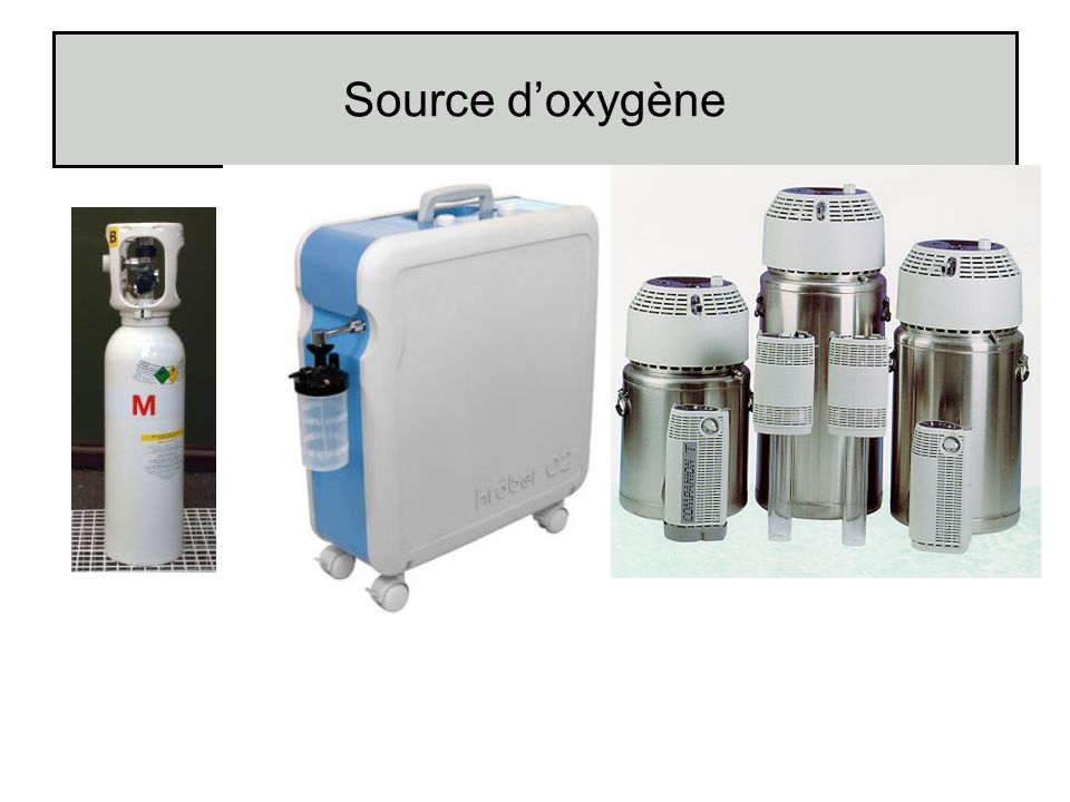 Source d'oxygène