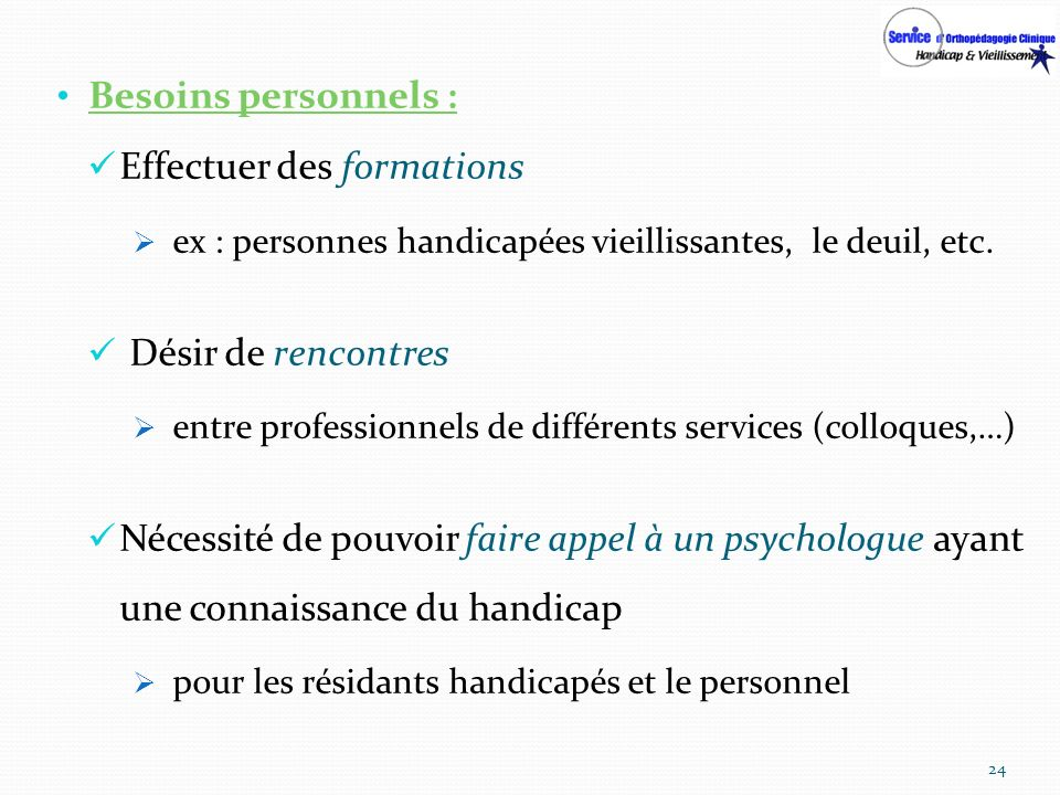 Effectuer des formations