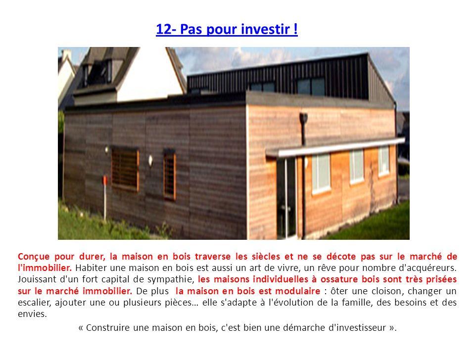 12- Pas pour investir !