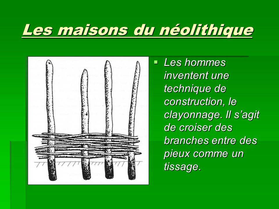 Les maisons du néolithique