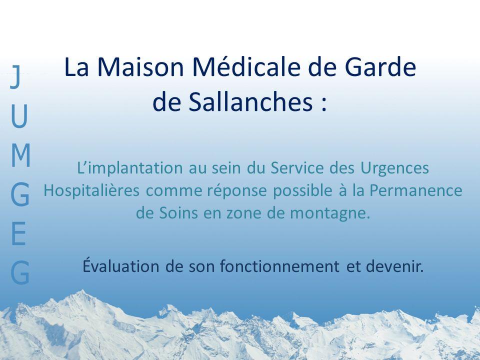 La Maison Médicale de Garde de Sallanches :