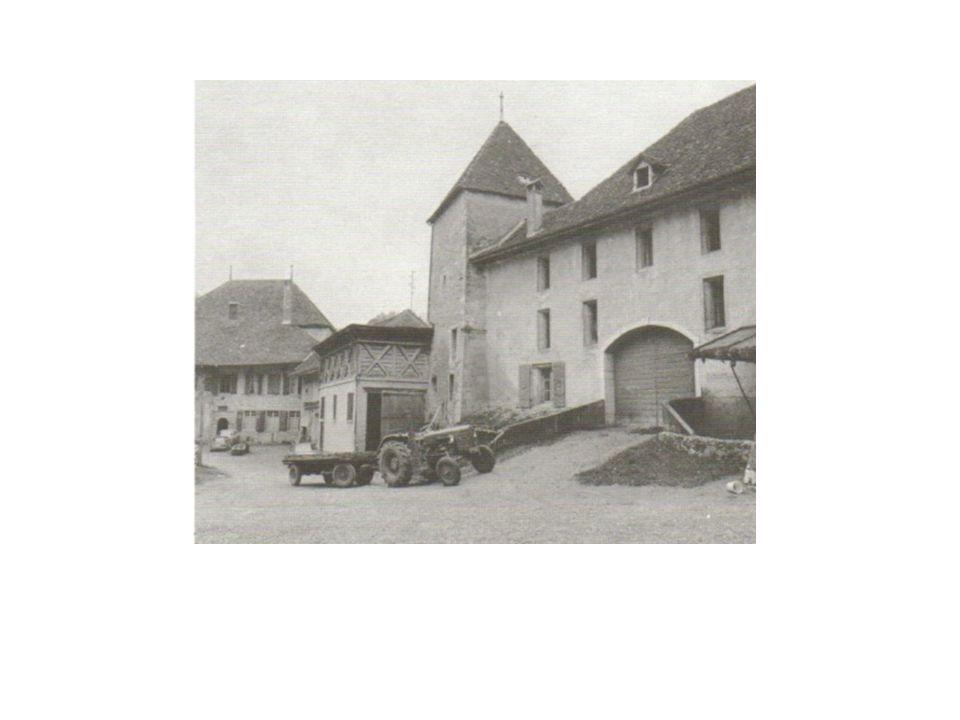 La Grange de la Dîme, la Tour St Georges, l'Ancienne Grange Carrée et le Château