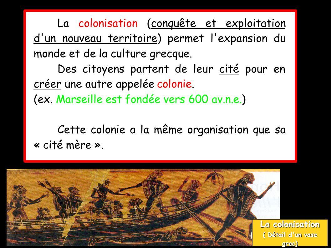 (ex. Marseille est fondée vers 600 av.n.e.)
