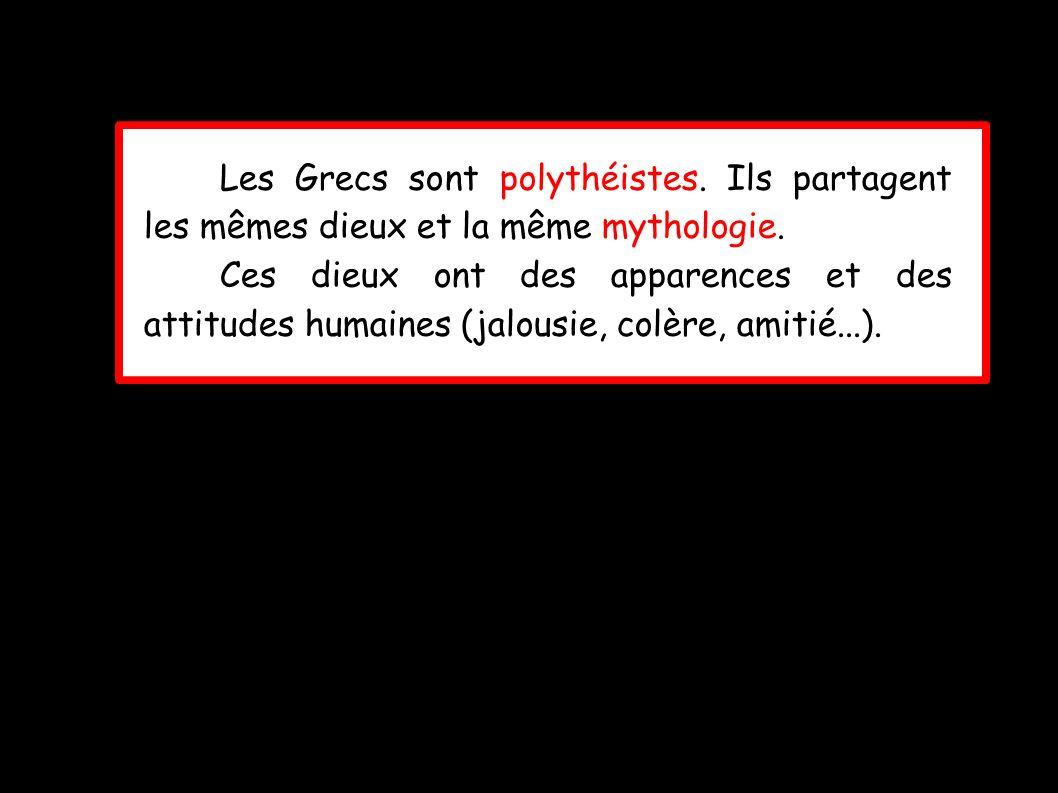 Les Grecs sont polythéistes