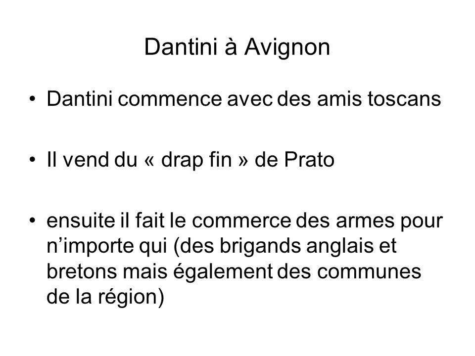 Dantini à Avignon Dantini commence avec des amis toscans