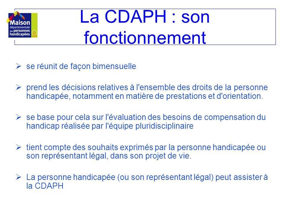 La CDAPH : son fonctionnement