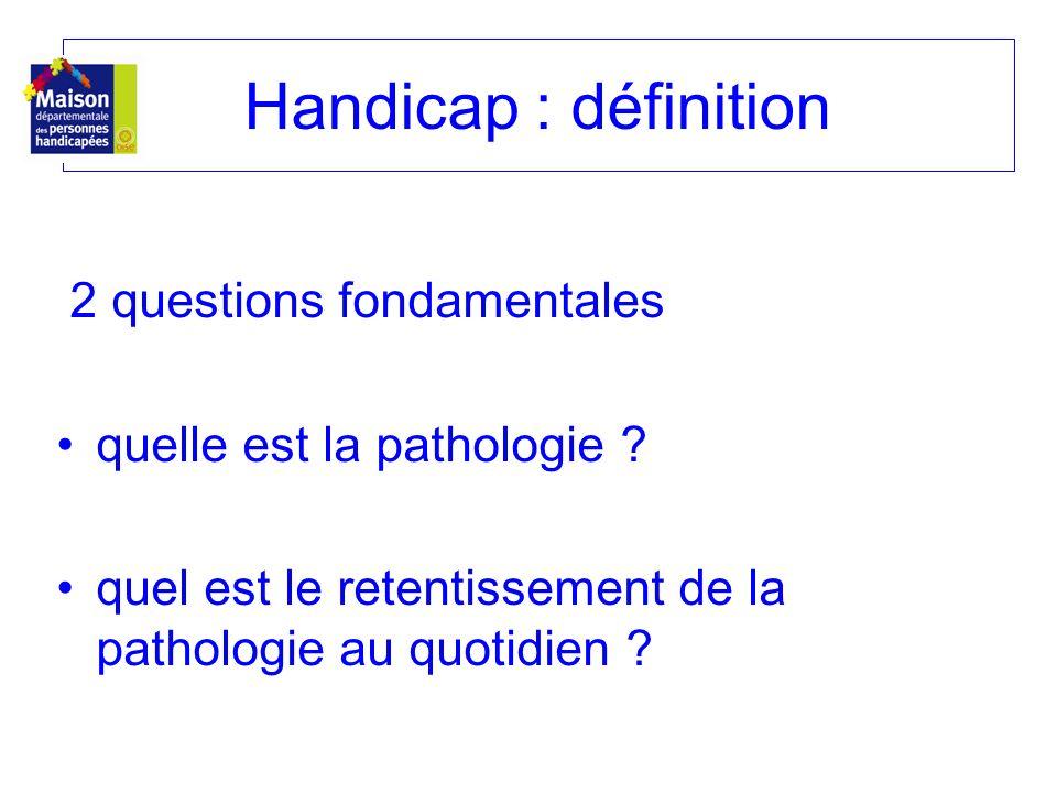 Handicap : définition quelle est la pathologie