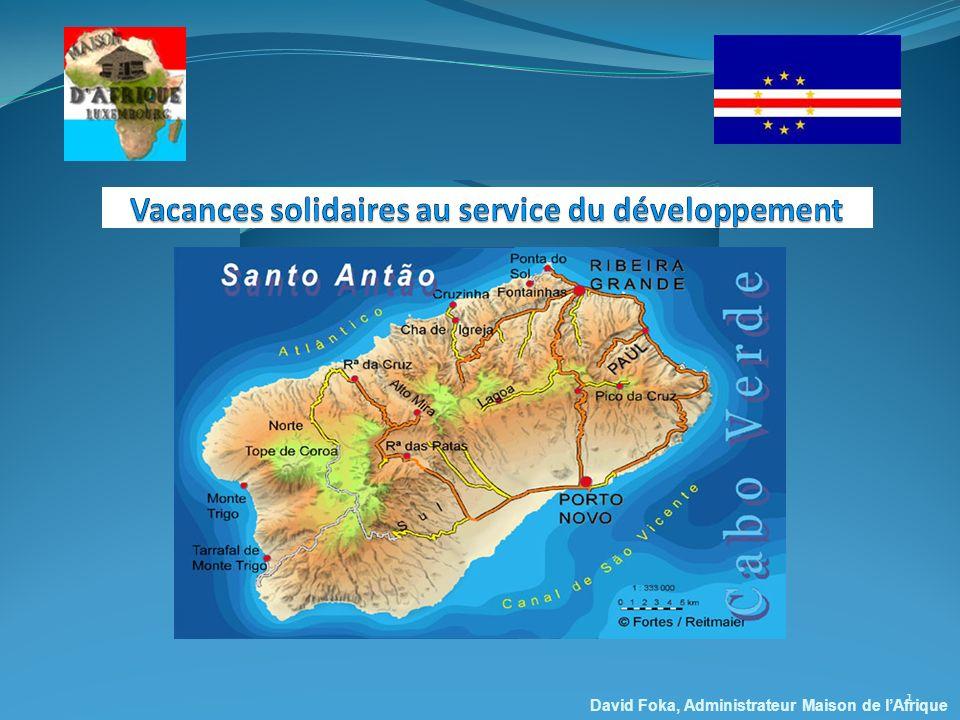 Vacances solidaires au service du développement