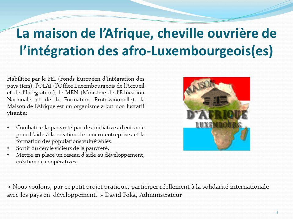 La maison de l'Afrique, cheville ouvrière de l'intégration des afro-Luxembourgeois(es)