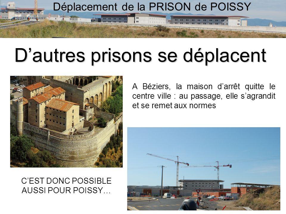 Déplacement de la PRISON de POISSY