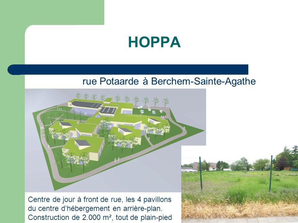 HOPPA rue Potaarde à Berchem-Sainte-Agathe