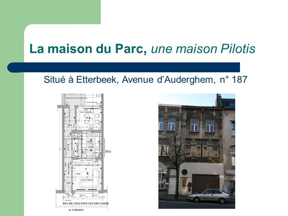 La maison du Parc, une maison Pilotis