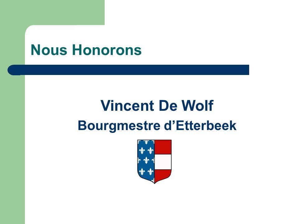 Bourgmestre d'Etterbeek