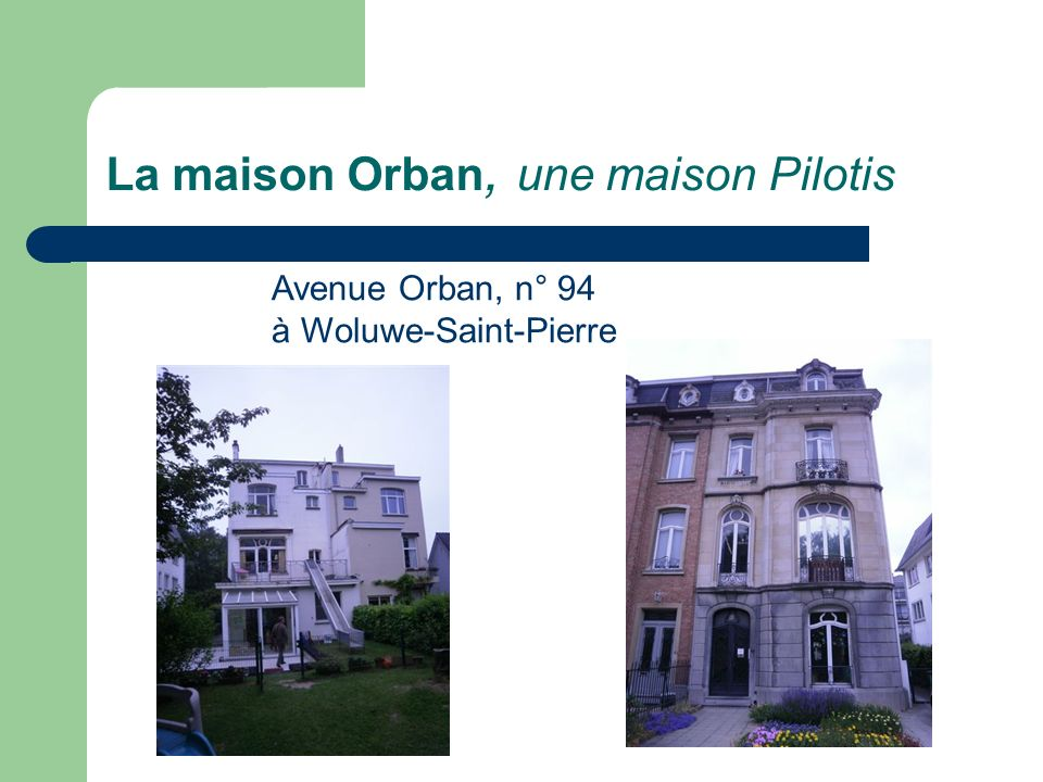 La maison Orban, une maison Pilotis
