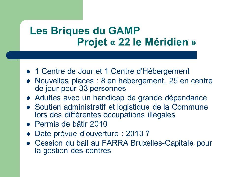 Les Briques du GAMP Projet « 22 le Méridien »