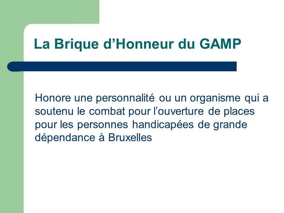 La Brique d'Honneur du GAMP