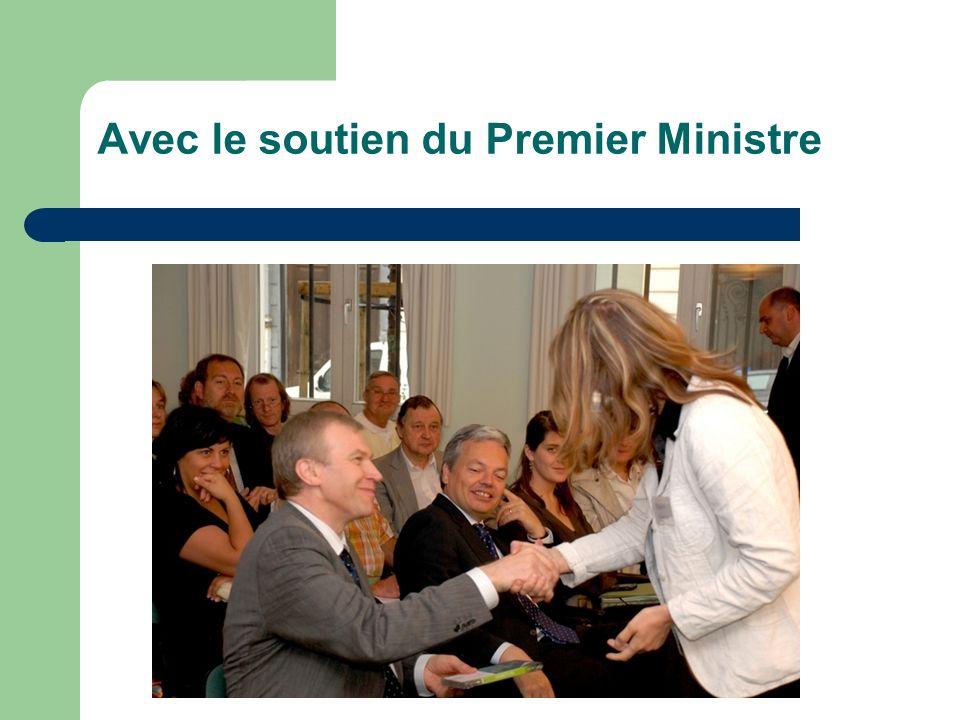 Avec le soutien du Premier Ministre