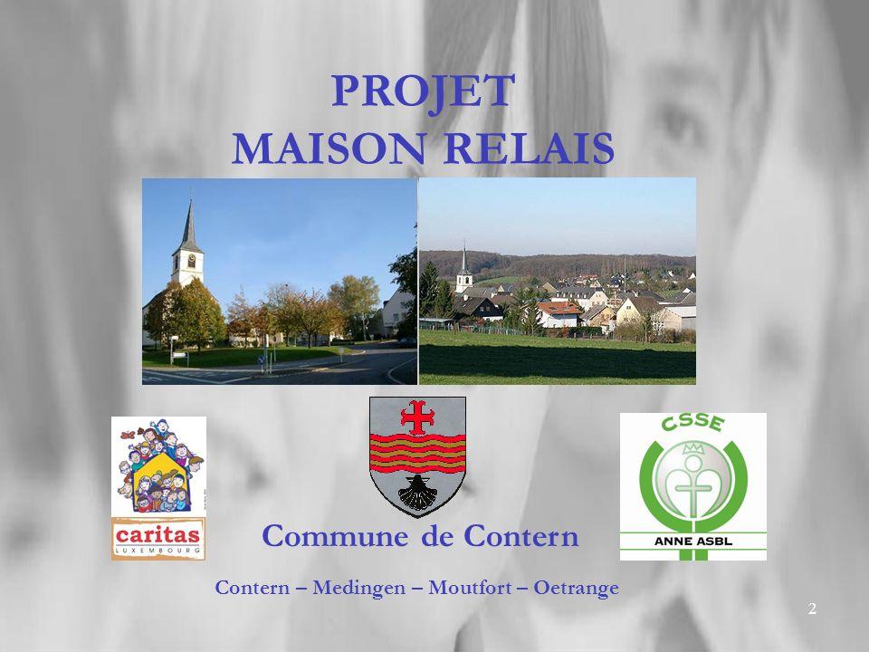 Contern – Medingen – Moutfort – Oetrange
