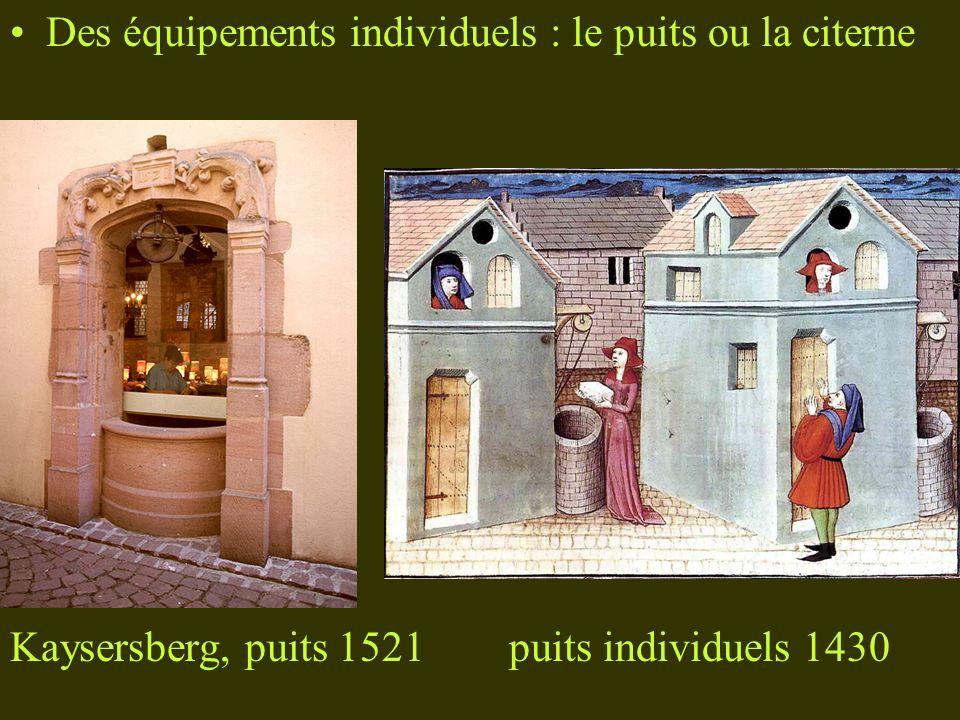 Des équipements individuels : le puits ou la citerne
