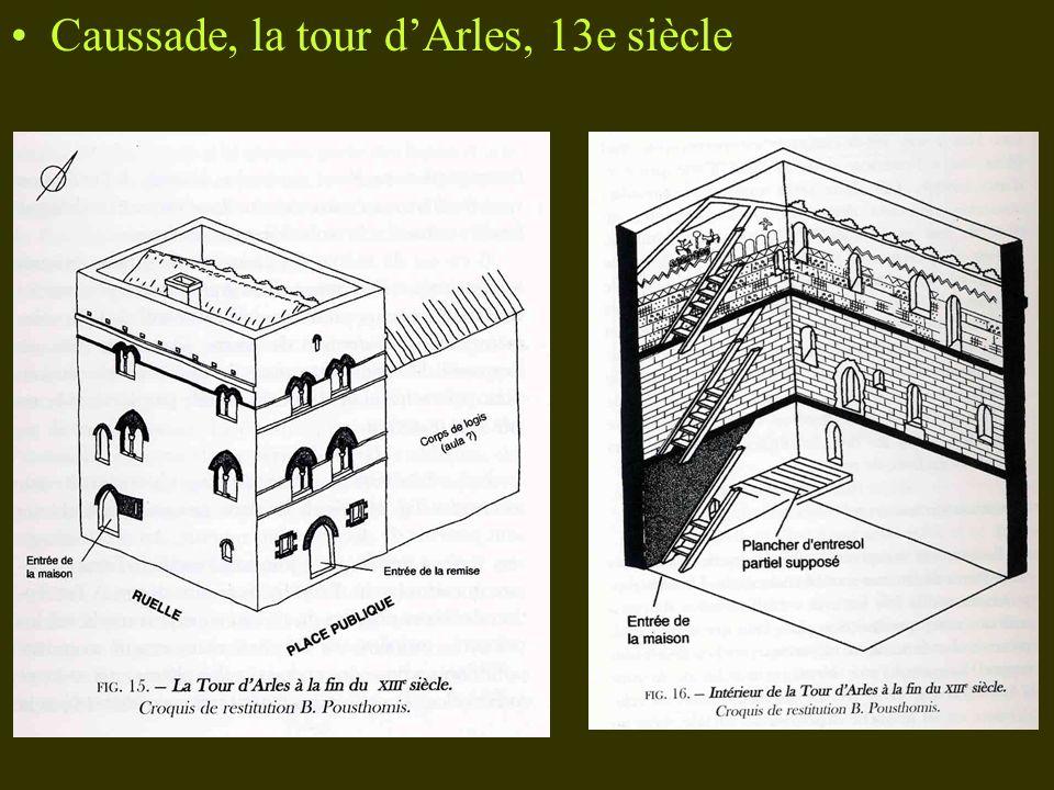 Caussade, la tour d'Arles, 13e siècle
