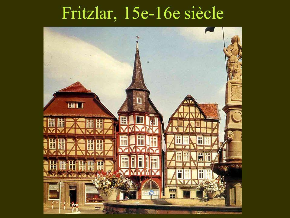 Fritzlar, 15e-16e siècle