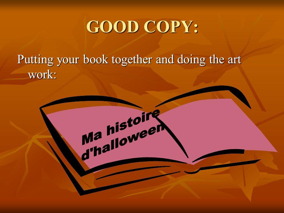 GOOD COPY: Ma histoire d halloween