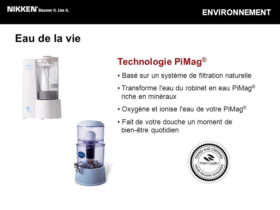 Eau de la vie Technologie PiMag® ENVIRONNEMENT