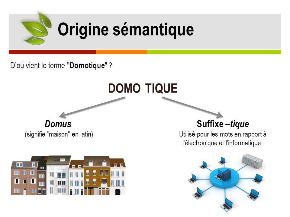 Domus (signifie maison en latin)