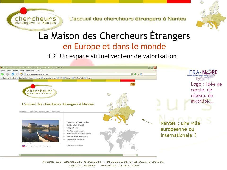 La Maison des Chercheurs Étrangers en Europe et dans le monde