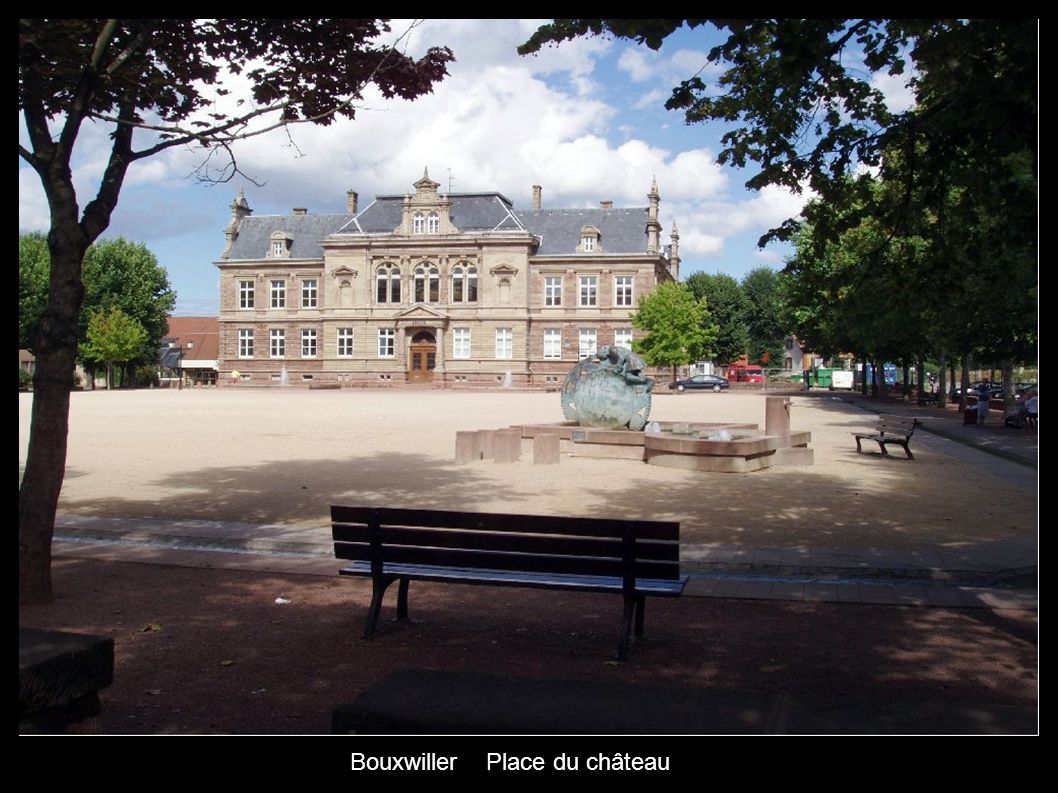 Bouxwiller Place du château