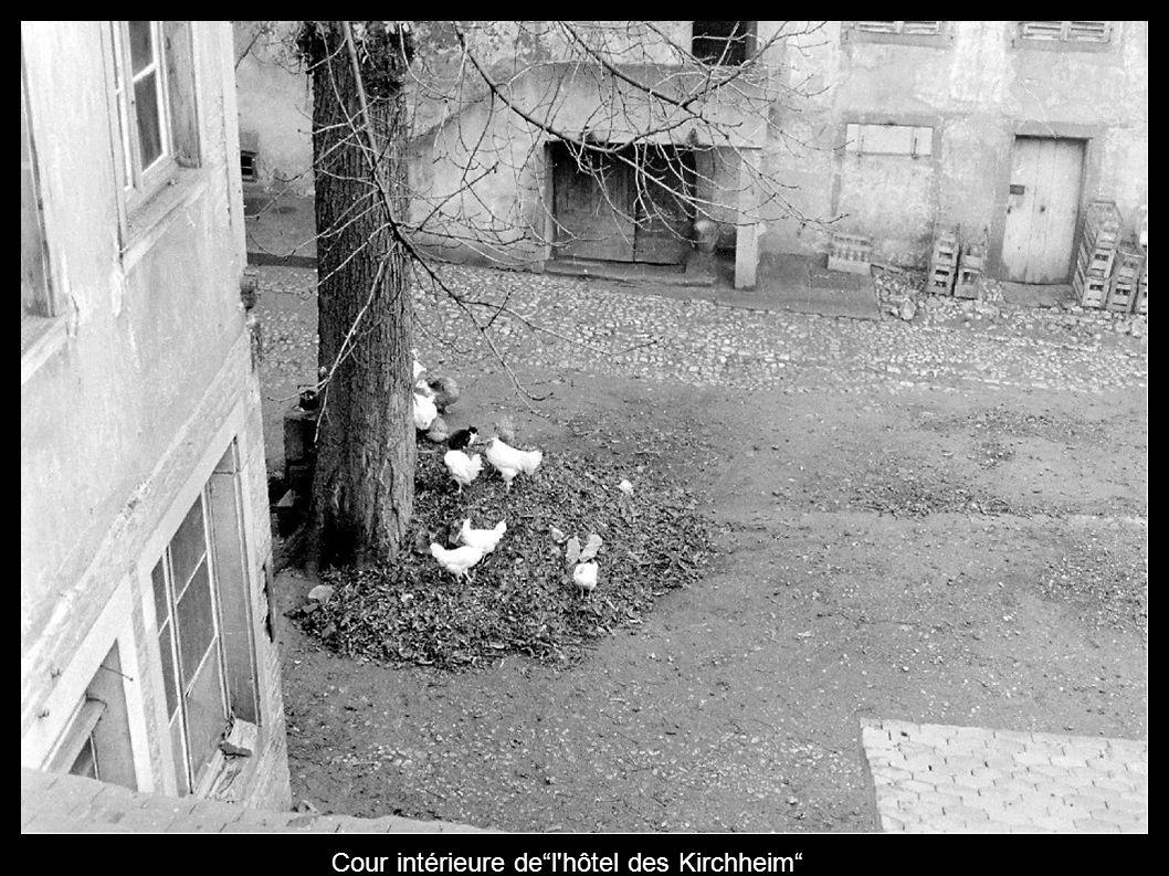 Cour intérieure de l hôtel des Kirchheim