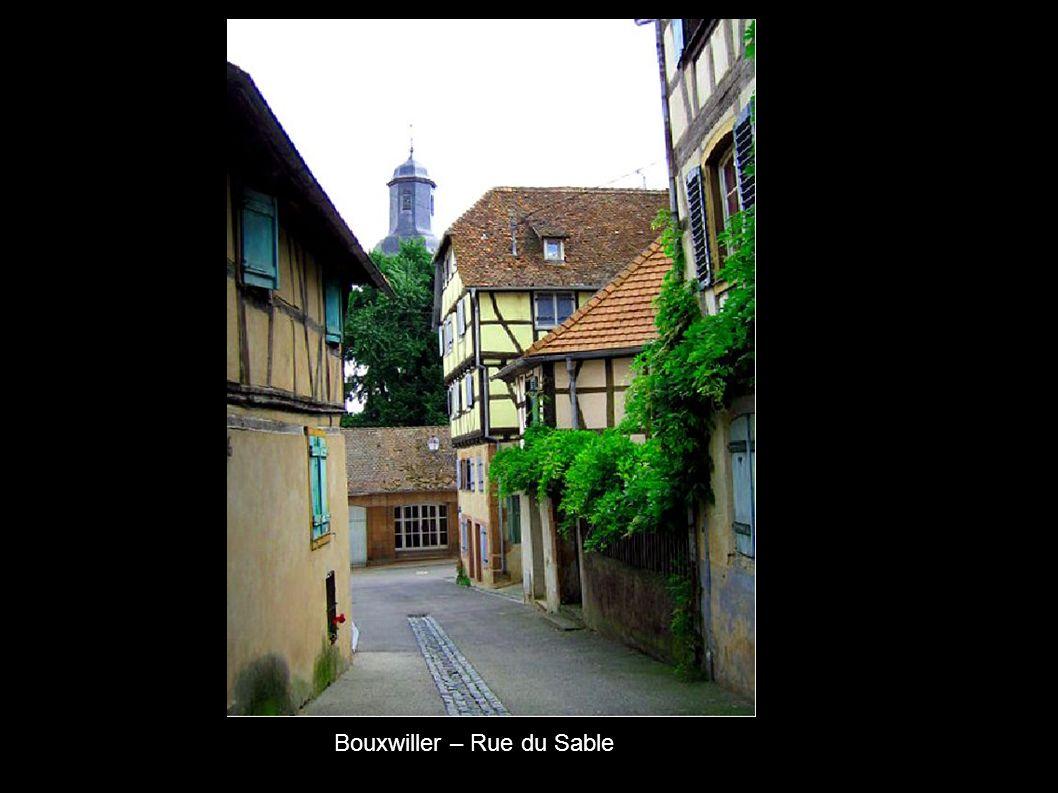 Bouxwiller – Rue du Sable