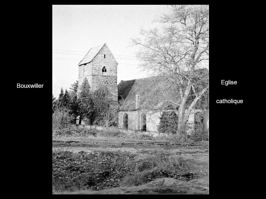 Eglise Bouxwiller catholique