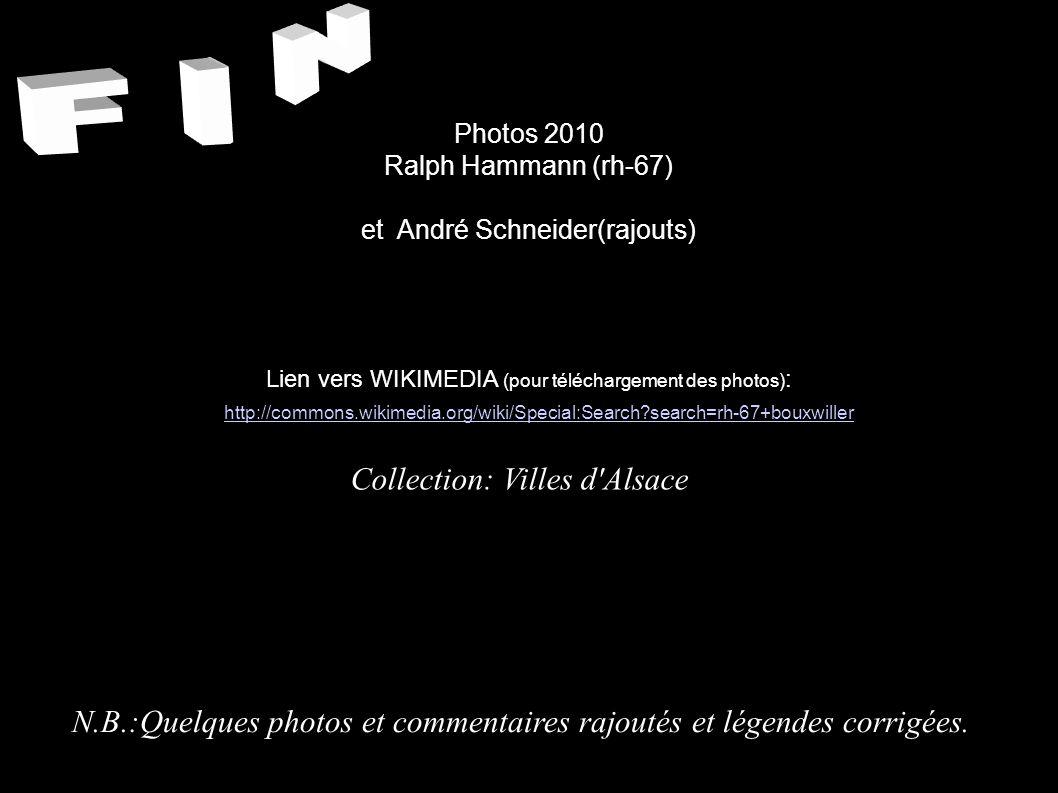 F I N Collection: Villes d Alsace