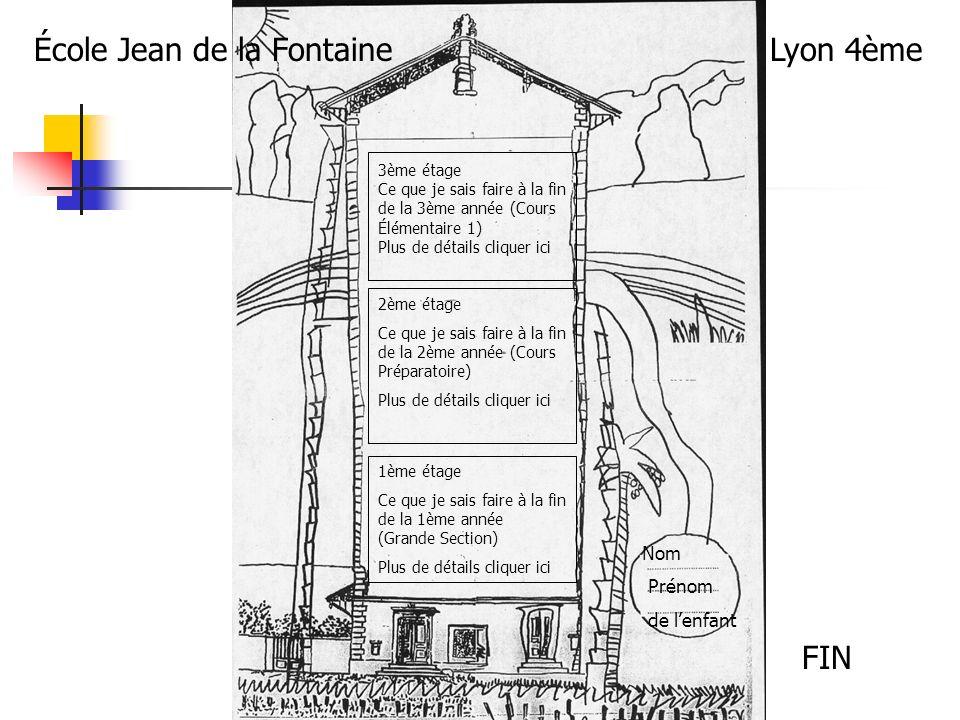 École Jean de la Fontaine Lyon 4ème