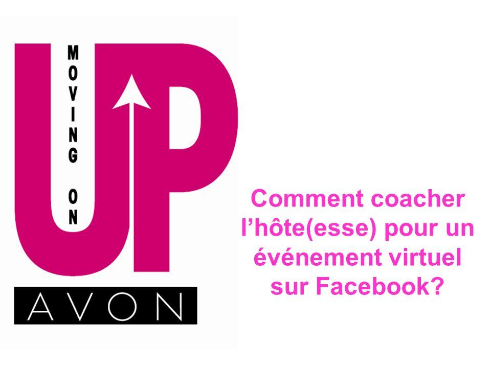 Comment coacher l'hôte(esse) pour un événement virtuel sur Facebook