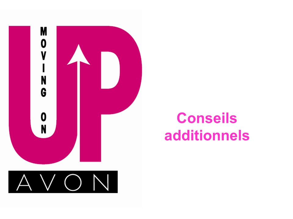 Conseils additionnels