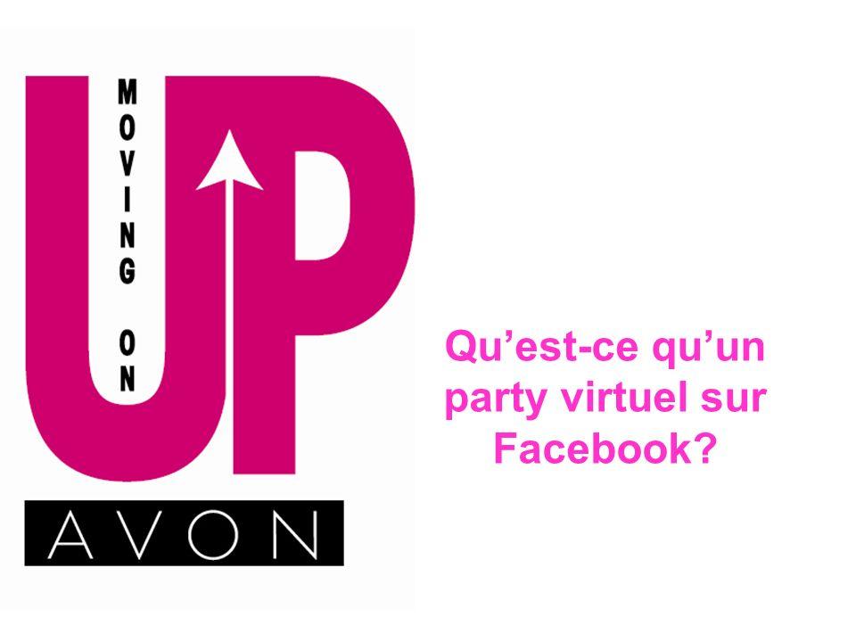 Qu'est-ce qu'un party virtuel sur Facebook