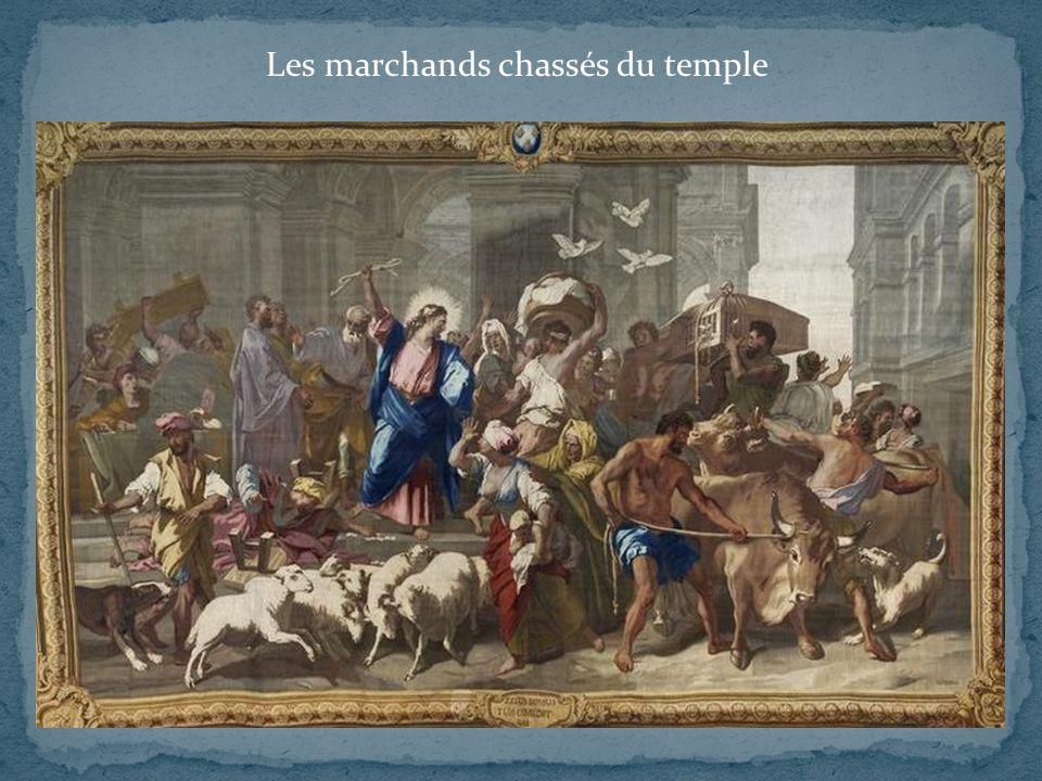 Les marchands chassés du temple