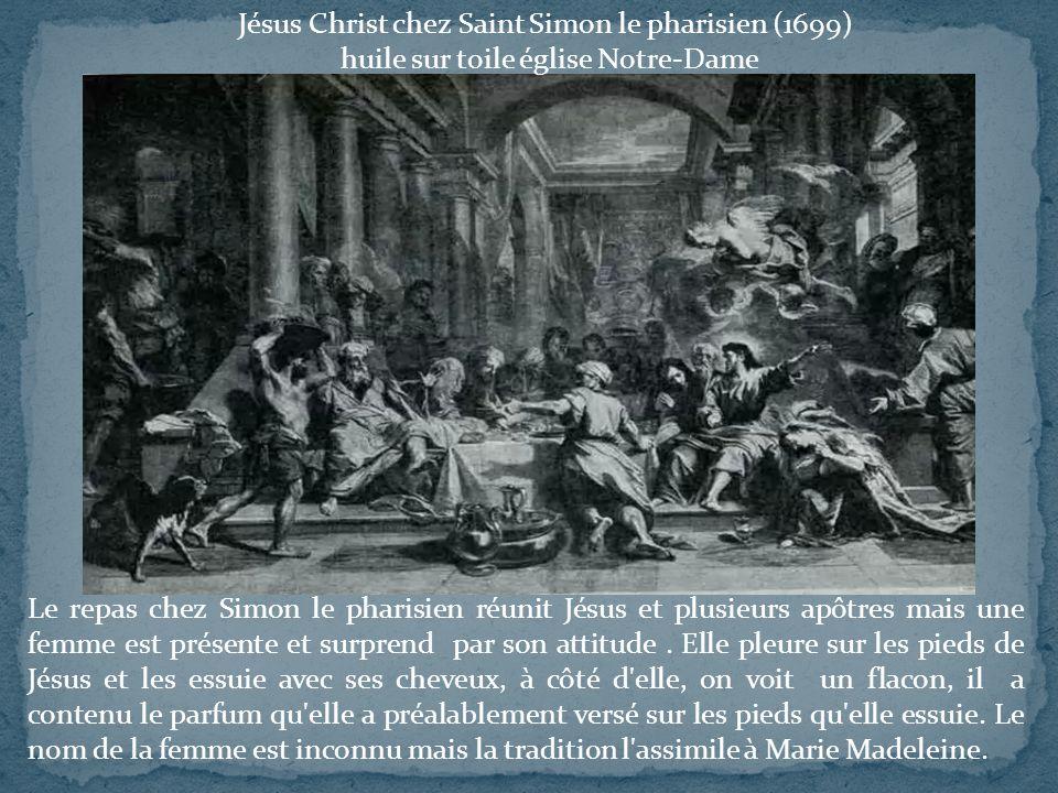 Jésus Christ chez Saint Simon le pharisien (1699)