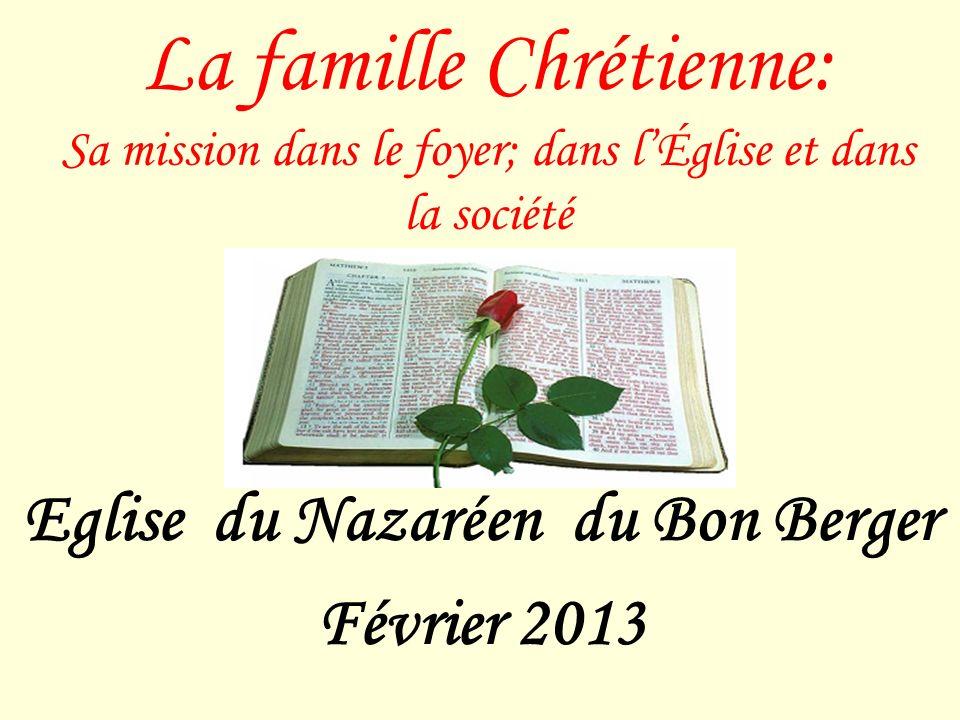Eglise du Nazaréen du Bon Berger Février 2013
