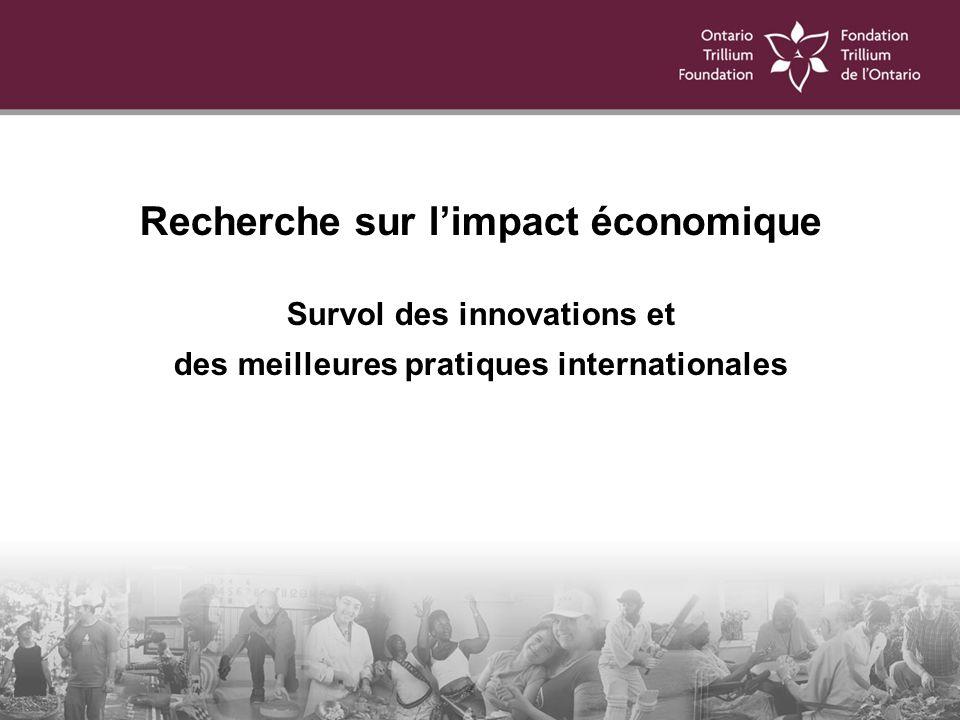 Survol des innovations et des meilleures pratiques internationales