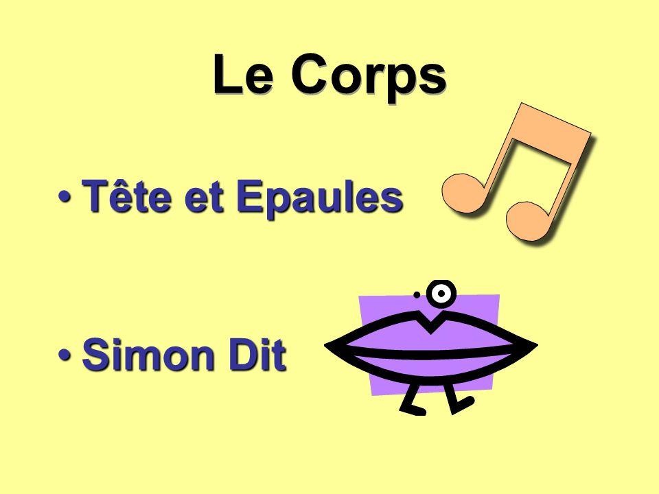 Le Corps Tête et Epaules Simon Dit