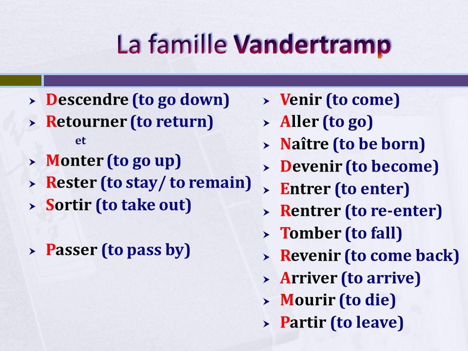 La famille Vandertramp