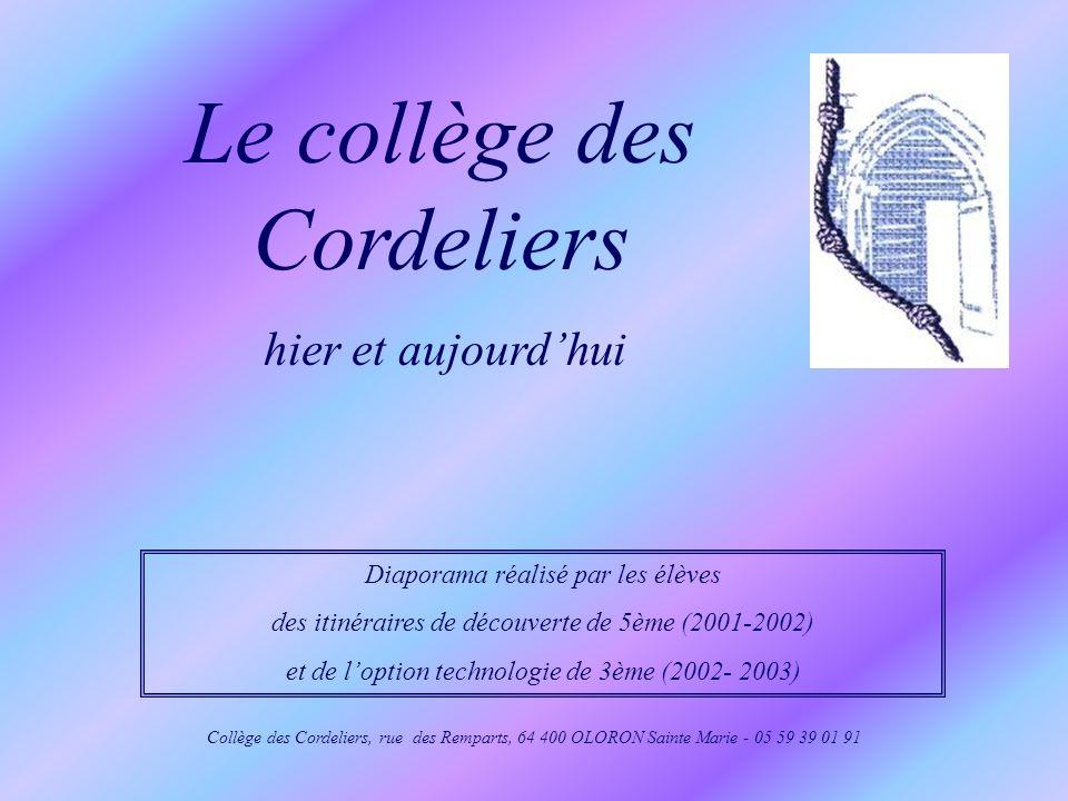 Le collège des Cordeliers