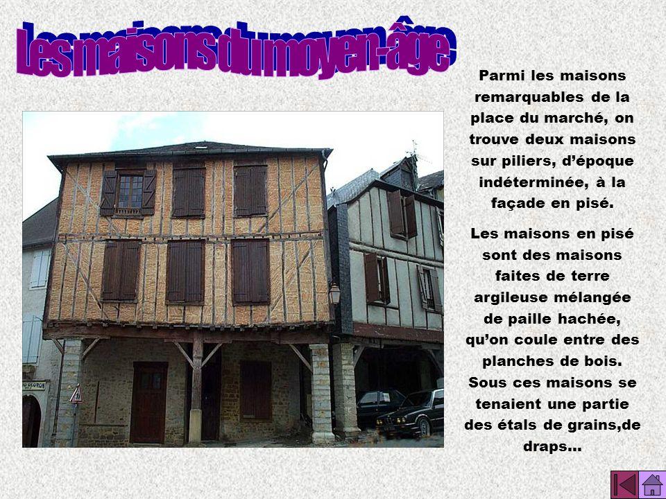 Les maisons du moyen-âge