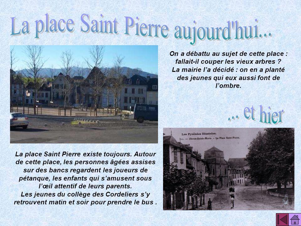 La place Saint Pierre aujourd hui...