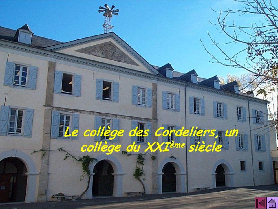 Le collège des Cordeliers, un collège du XXIème siècle