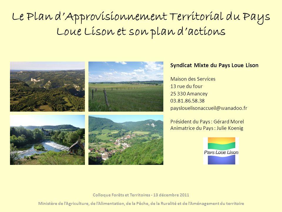 Colloque Forêts et Territoires - 13 décembre 2011