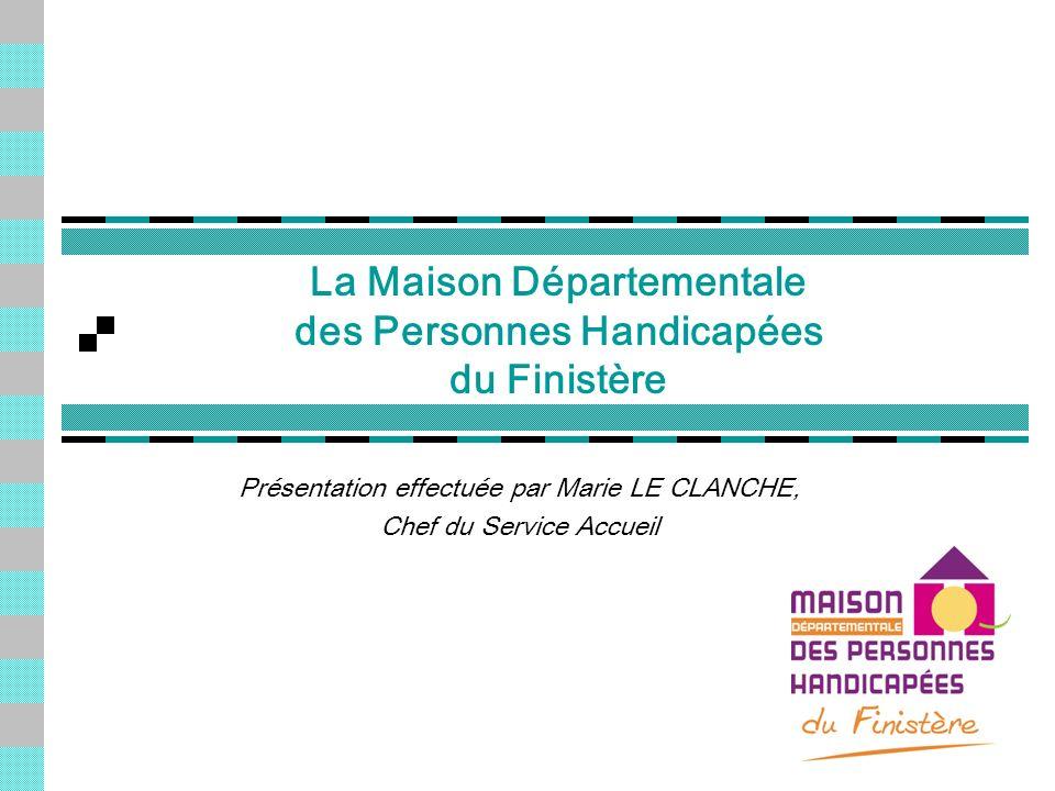 La Maison Départementale des Personnes Handicapées du Finistère